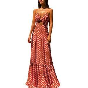 *ISO* Maxi Cutout Dress